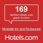 169 Verified Hotels.com guest reviews Mirabelle Inn and Restaurant